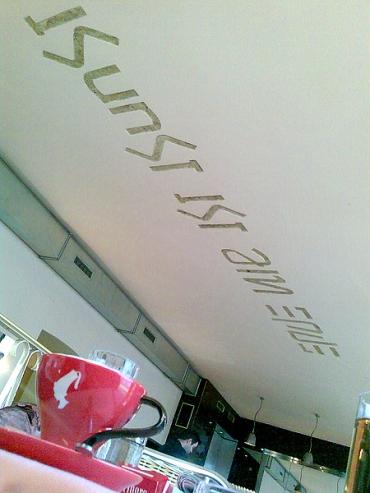 Café Stein: Kunst ist am Ende / Ende nie ist Kunst