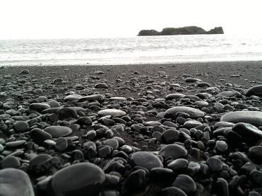 Schwarzer Strand in Dyrhólaey