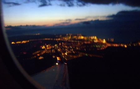 Abendrot über Reykjavik =