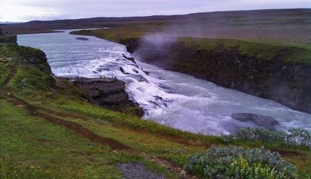 Gullfoss - Goldener Wasserfall