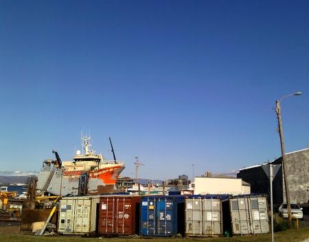 Abschied vom Hafen ...