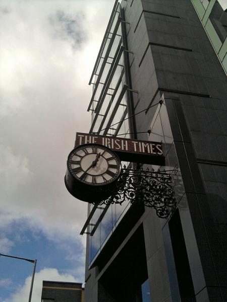 Irish Times - schon 35 nach Zwölf?