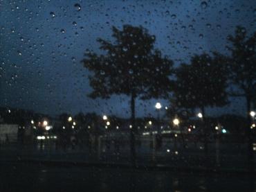 Ein Hauch Dublin zwischen dicken Regentropfen ...