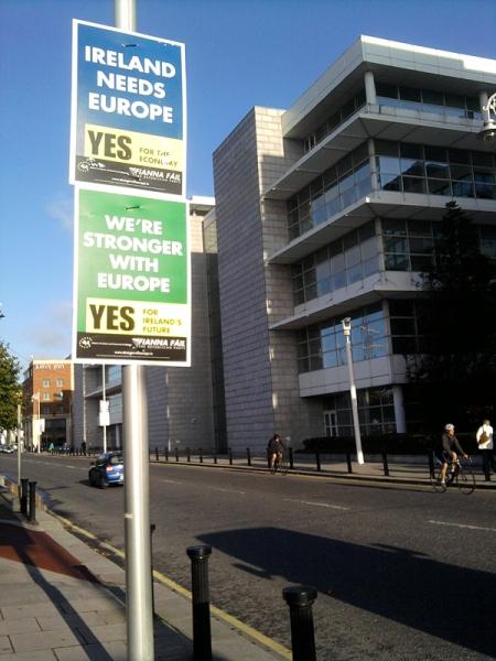Ireland needs Europe!