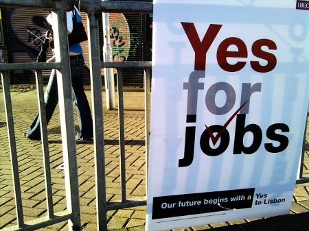 Yes for Jobs - das triffts wohl eher ...